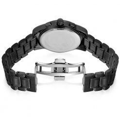 BOAMIGO montre de sport Quartz pour hommes bracelet en acier inoxydable couleurs vari es tendance populaire 1